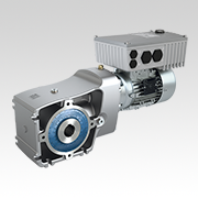 Two Stage Helical Bevel Gear Unit for MODEX Trade Show