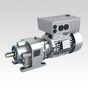 NORDBLOC.1 Single Stage Inline Gearmotor for MODEX Trade Show